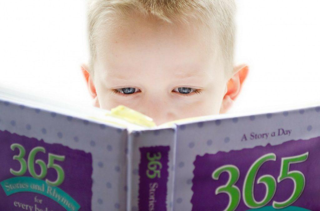 Bedtime reading excitement