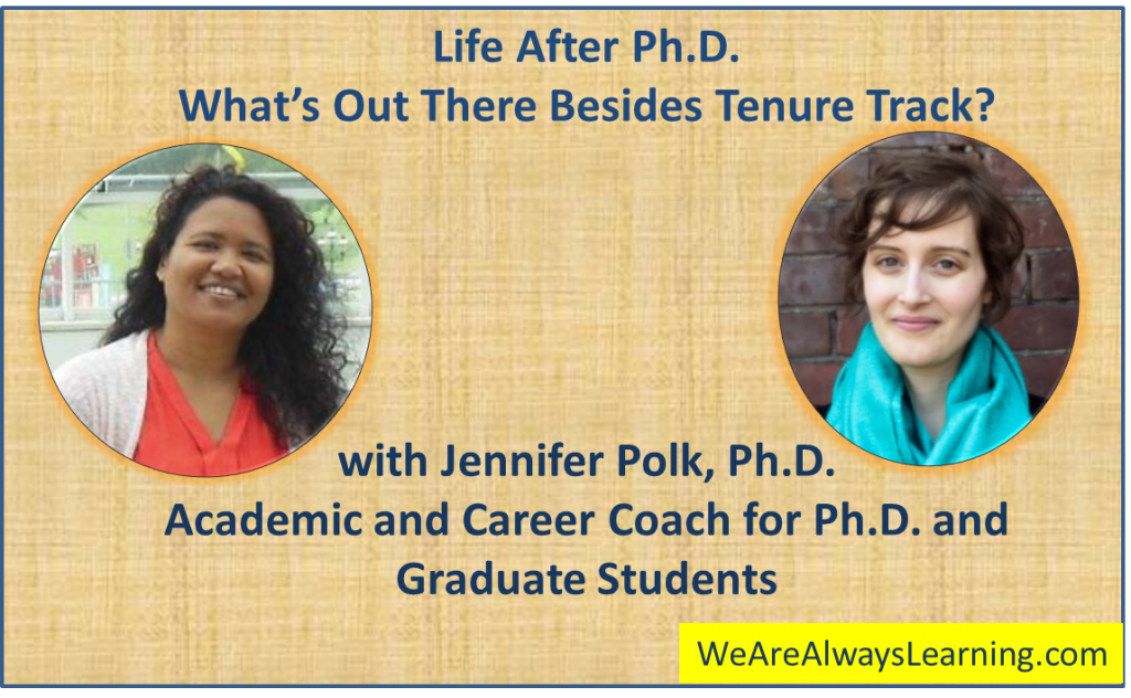 Life and Lessons After PhD, Beyond the Academia