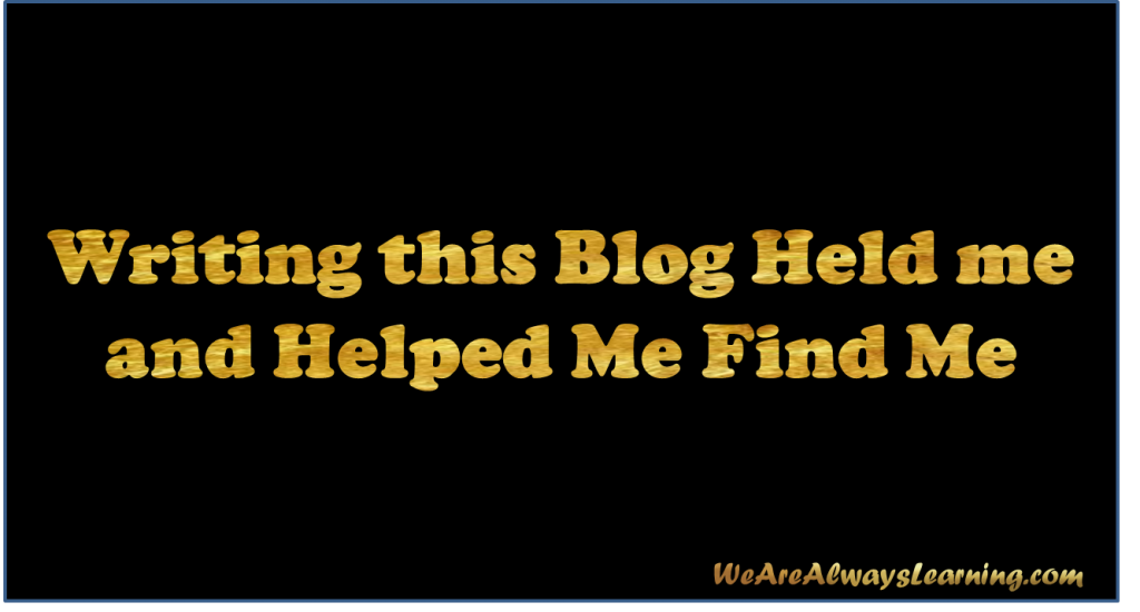 How this blog helped me get past one of the hardest time of my life?